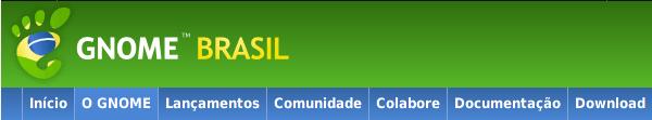 GNOME Brasil Website