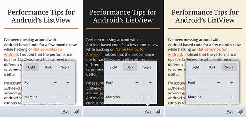 Reader Mode in Firefox Mobile | Lucas Rocha