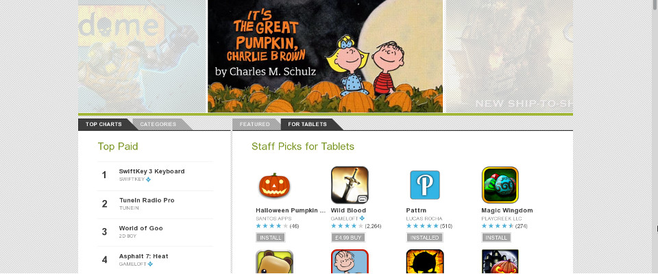 Pattrn in Google Play's Staff Picks