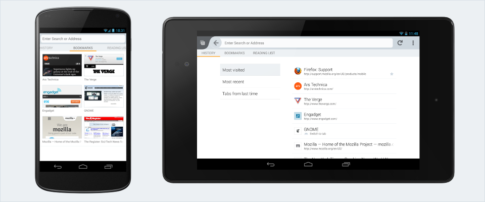 Revamped UI in Firefox for Android | Lucas Rocha
